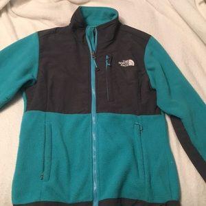 Teal NF jacket